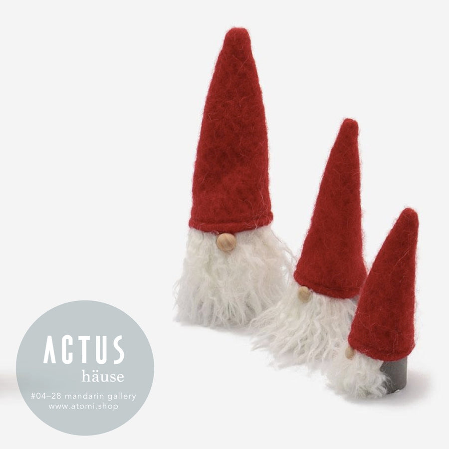 Santa Ceramic Ornament - atomi shop