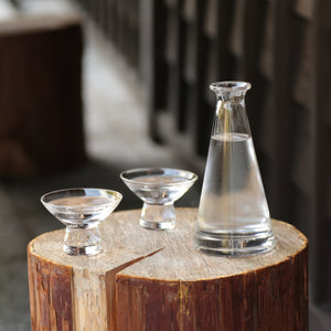 Simple Modern Style Glass Sake Set