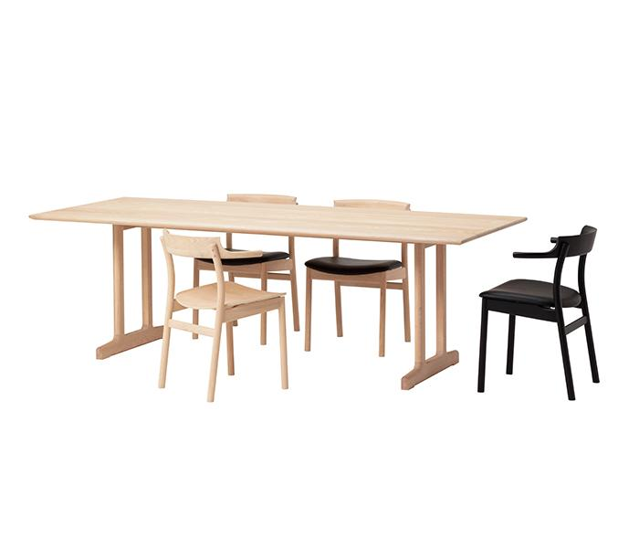 SOUP Dining Table (Leg: T Type) - atomi shop