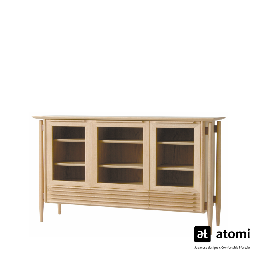Ac-cent White Wood Side Board - atomi shop