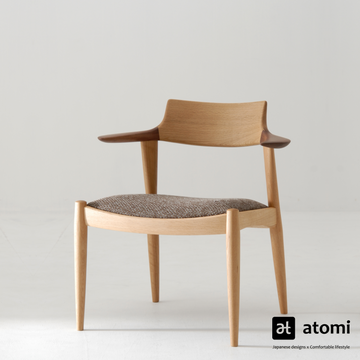 White Wood Chair - atomi shop