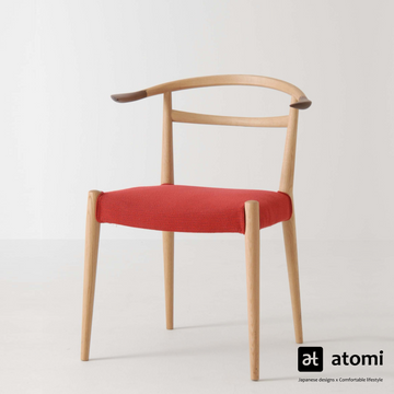 White Wood Dining Chair - atomi shop