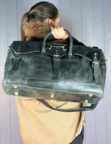 Barrington Bag In Black Leather
