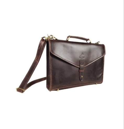 Adam Briefcase Antique Dark Brown