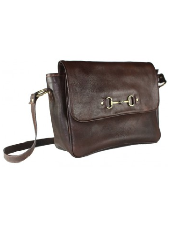 Alexandra Bag in Fine Leather Brown