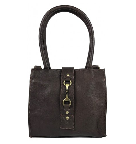 Mini Alice Handbag Fine Leather Brown