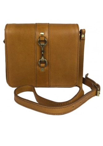 Julia Side Bag Natural Leather Tan