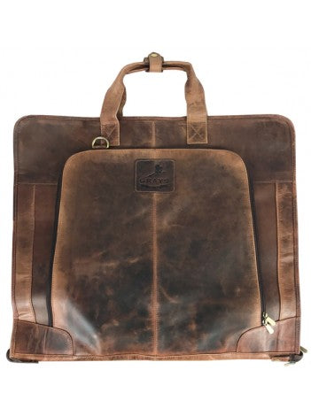 Joshua Suit Carrier Antique Dark Brown