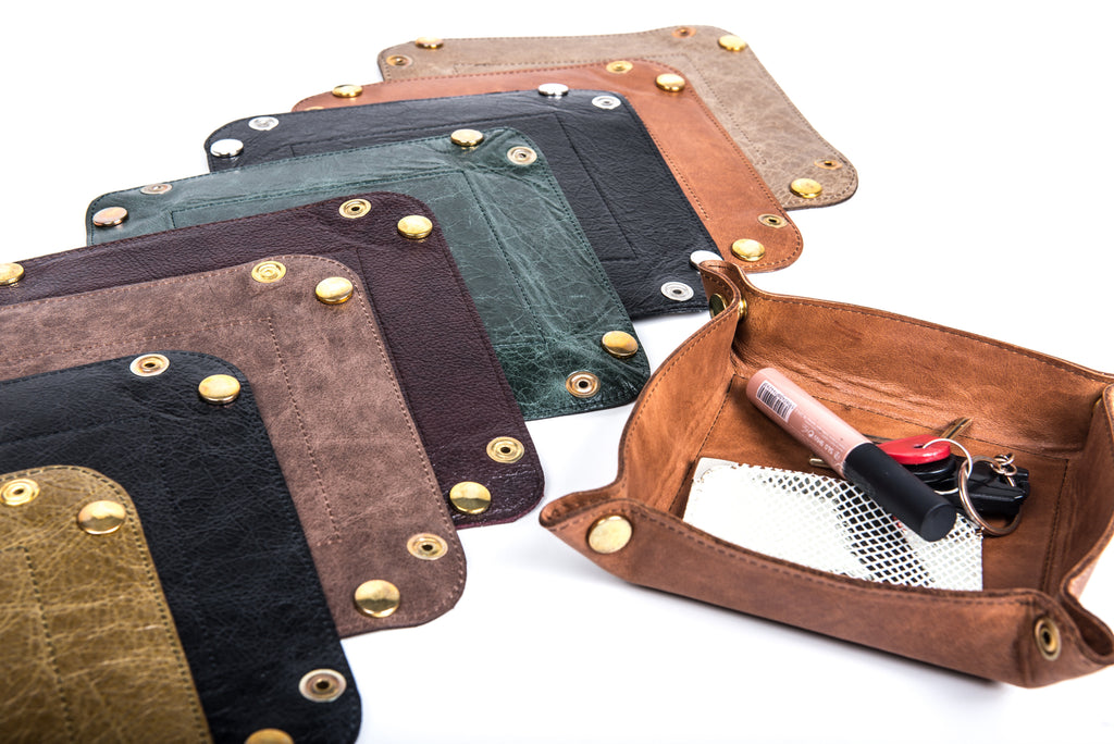 Leather Tidy Tray