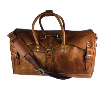 Barrington Xl Bag In Tan Leather