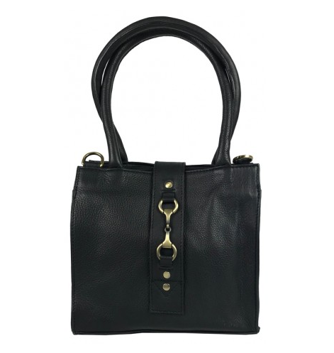 Mini Alice Handbag Fine Leather Black