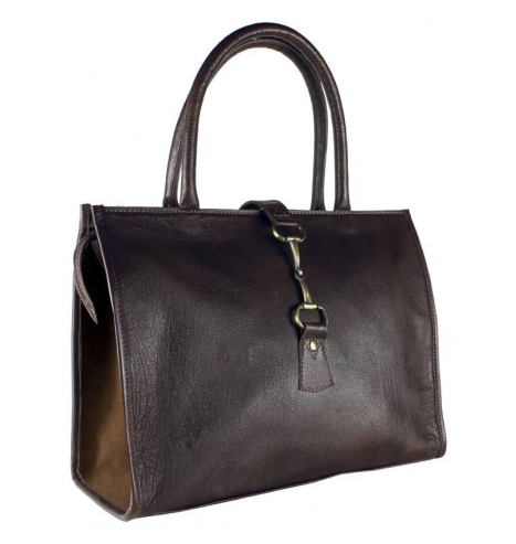 Alice Bag Fine Leather & Suede Brown