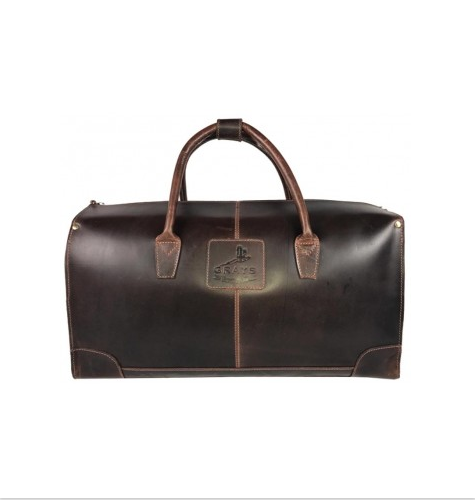 Copeland Holdall Antique Dark Brown
