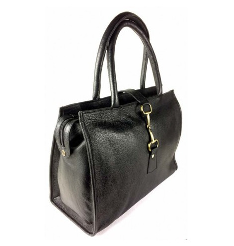 Alice Bag Fine Leather Black