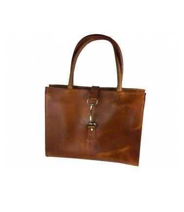 Alice Bag In Tan Full Leather