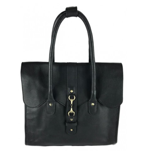 Mary Handbag Fine Leather Black