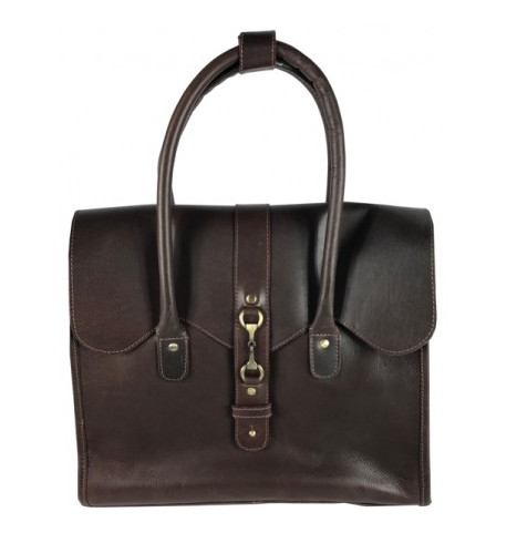 Mary Handbag Natural Leather Brown