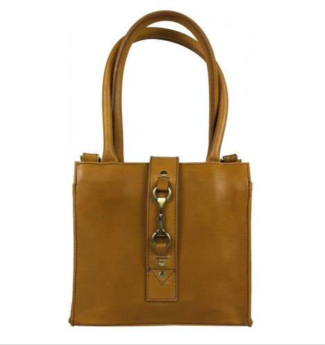 Mini Alice Handbag Natural Leather Tan