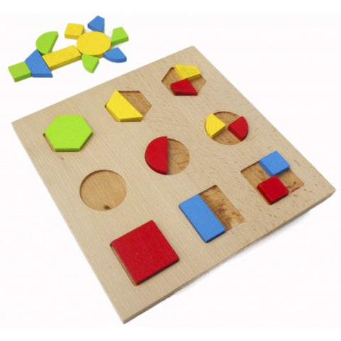 geo shape puzzle - SALE - available