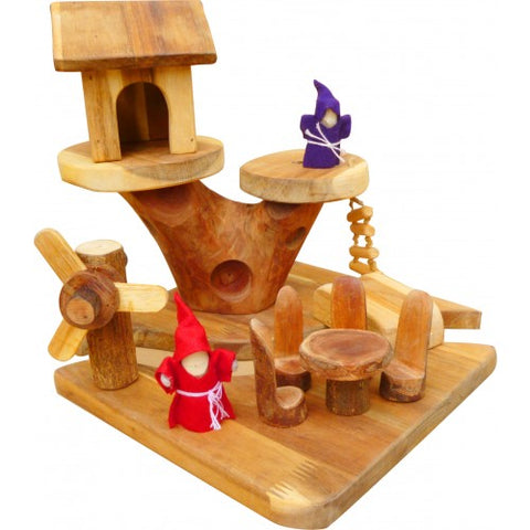 gnome tree house - available