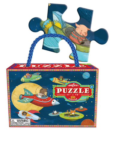20 piece puzzle - up & away