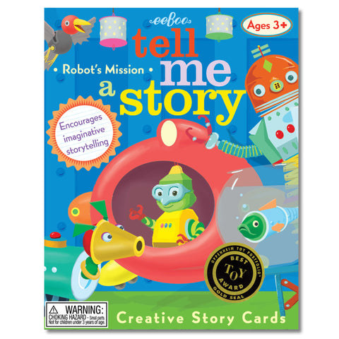 tell me a story cards - robot's mission