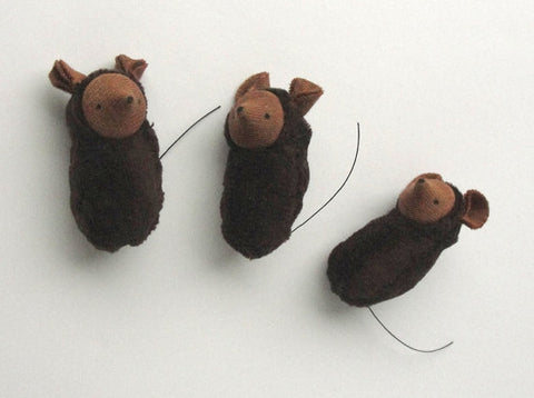 small mouse - brown - PREORDER