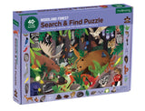 search & find puzzle - 64 pc - woodland forest