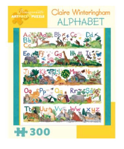 alphabet 300pc puzzle - available
