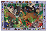 search & find puzzle - 64 pc - woodland forest - SALE