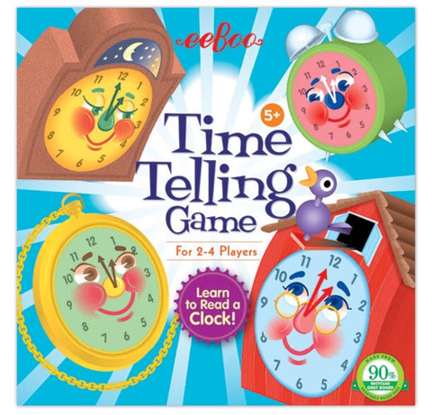 time telling board game - available