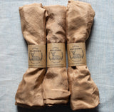 naturally dyed playsilk - brown