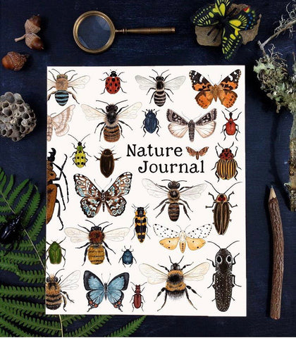 nature journal - minibeast cover
