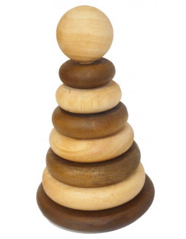 Wooden stacking rings - available