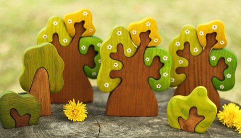 spring oak tree puzzle