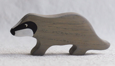 wooden badger - PREORDER