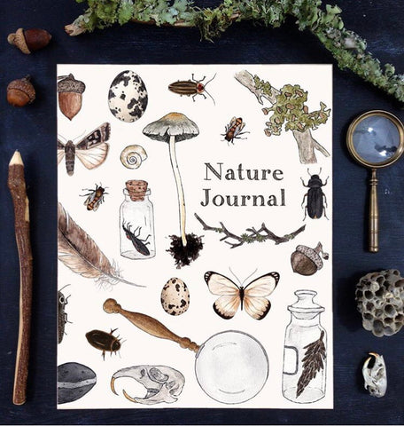 nature journal - nature treasure cover - preorder
