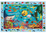 search & find puzzle - 64 pc - ocean life