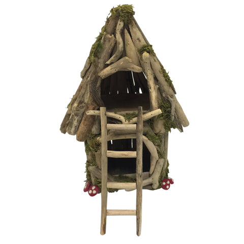 large woodland fairy house