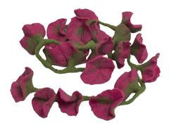 pink hibiscus chain - available