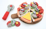 felt pizza set  - SALE