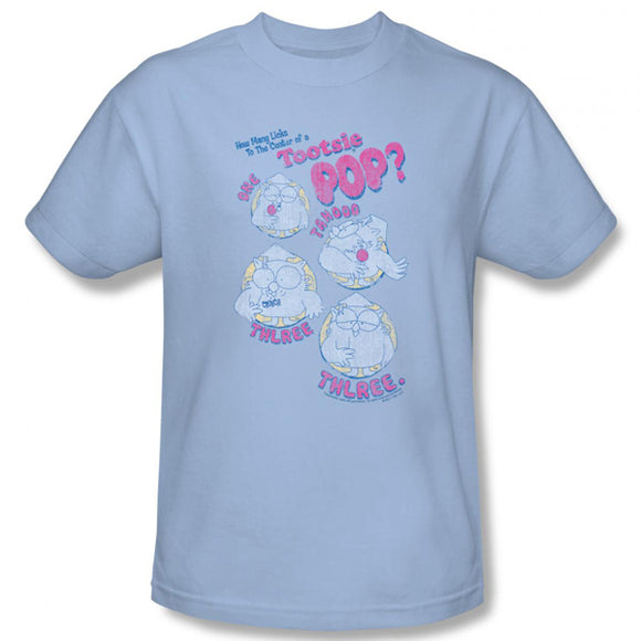 Three (Blue) T-Shirt - TootsieShop.com