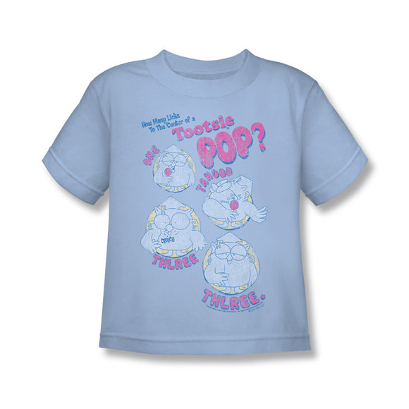 Three (Blue) Kids Tee - TootsieShop.com