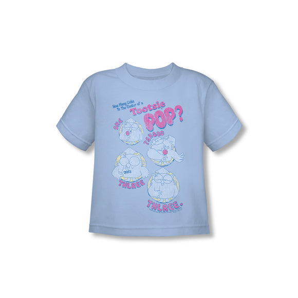 Three (Blue) Toddler Tee