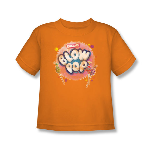 Blow Pop Bubble (Orange) Kids Tee - TootsieShop.com