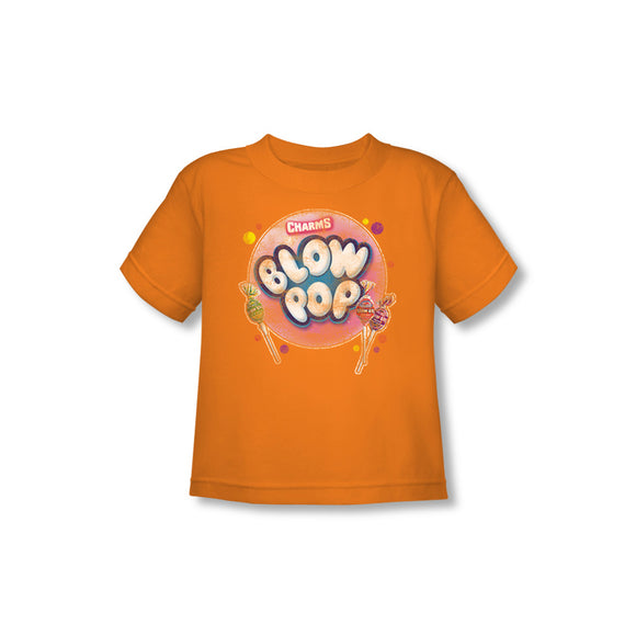 Blow Pop Bubble (Orange) Toddler Tee - TootsieShop.com