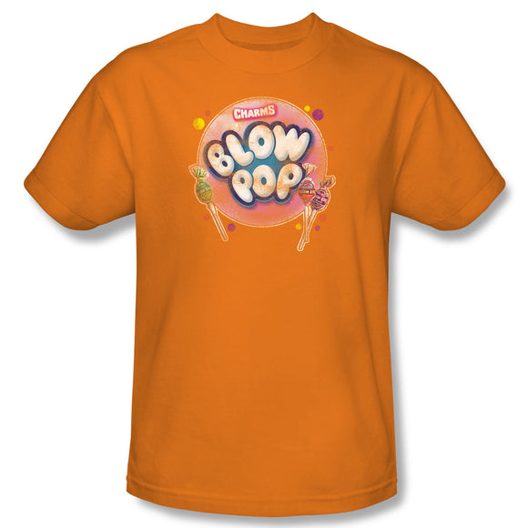 Blow Pop Bubble (Orange) T-Shirt - TootsieShop.com