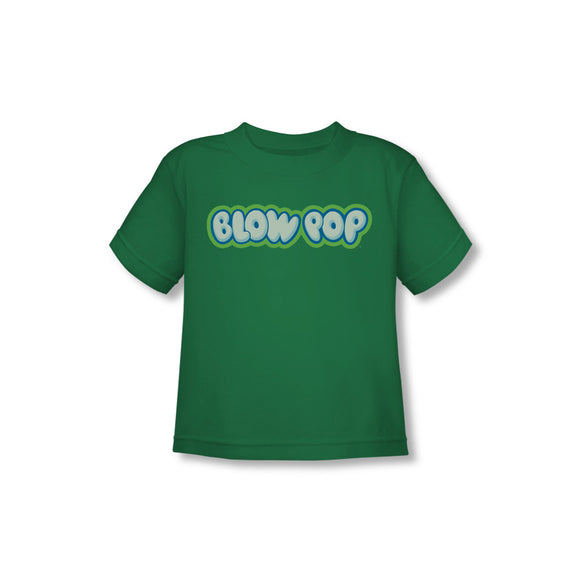 Blow Pop Logo (Kelly Green) Toddler Tee