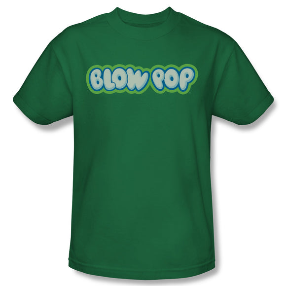 Blow Pop Logo (Kelly Green) T-Shirt