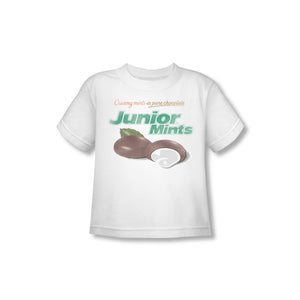 Junior Mints Logo (White) Toddler Tee - TootsieShop.com
